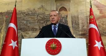 Ердоган пояснив, за що Туреччина воює у Сирії