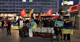 У Берліні провели акцію, присвячену 6 роковинам анексії Криму: красномовні фото