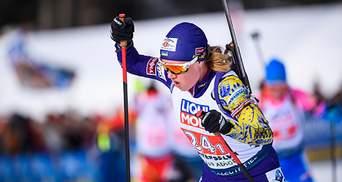 Чемпіонат Європи з біатлону: Меркушина фінішувала 5-ю, Семеренко – 9-а