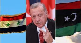 Сирія та Лівія домовилися спільно боротися проти втручання армії Ердогана