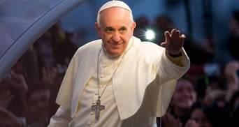 Папу Римського перевірили на коронавірус