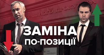 Рябошапку на Іонушаса: як зміна генпрокурора може вплинути на реформи