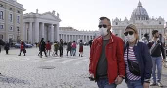У Ватикані підтвердили перший випадок коронавірусу