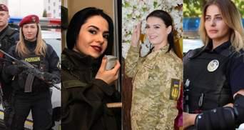 Защитницы Украины и гаранты правопорядка: как силовики поздравляют женщин – невероятные фото