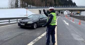 Австрія та Словенія закрили кордон з Італією через коронавірус