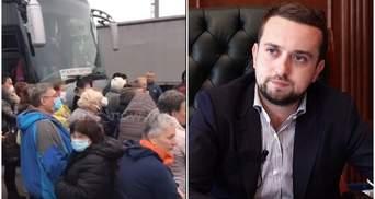 Українців, які застрягли на кордоні Італії та Словенії, забере спецборт, – ОП