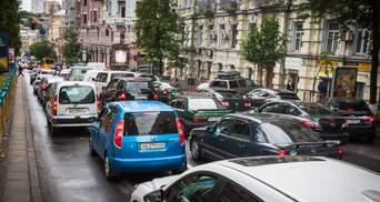 Перший день без метро: Київ стоїть у заторах – карта