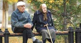 Одиноким пенсионерам Киева доставляют продукты и лекарства
