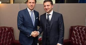Зеленський поговорив з прем'єром Італії Конте: головні тези