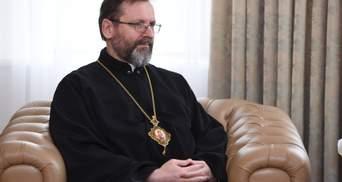 УГКЦ готова перетворити свої храми на лікарні: заява Блаженнішого Святослава