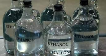 Уряд заборонив експорт етилового спирту