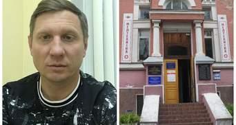 Хворий на коронавірус Шахов показав свою палату та розповів, як його лікують