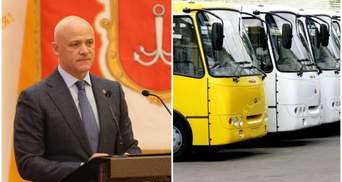 Труханов переводит общественный транспорт Одессы в режим специального: что это значит