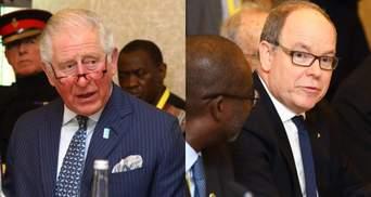 Князь Монако отреагировал на слухи, что он заразил принца Чарльза коронавирусом