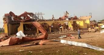 В Нигерии прогремел мощный взрыв: снесло более 100 домов