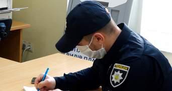 На коронавірус захворів поліцейський ще і на Запоріжжі
