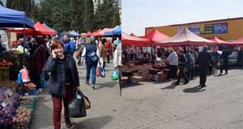 Під час епідемії коронавірусу в анексованому Криму організували масові ярмарки: фото