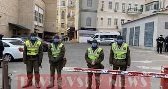Нацгвардейцы окружили отели, где находятся украинцы на обсервации: фото