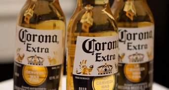 Пиво Corona временно перестали варить из-за коронавируса