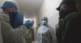 Инспекция киевского СИЗО: нет дезсредств и медсредств, еду раздают в коробках из-под сельди