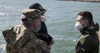 Важливо захистити наші порти, – Зеленський у Бердянську про будівництво бази ВМС – фото