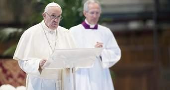 Папа Римський у великодньому зверненні пригадав Україну: як це було