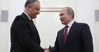 """У Кремлі розглядають Молдову, як модель для """"врегулювання"""" конфлікту на Донбасі"""