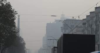 Пил навколо Києва: наскільки небезпечно та як захиститися