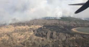 Чому не вдається повністю загасити пожежі в Чорнобильській зоні: відповідь ДСНС