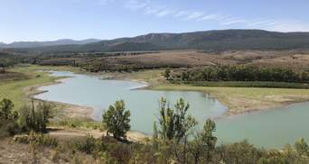 В Крыму продолжает исчезать вода: какие запасы остались в водохранилищах полуострова