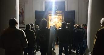 Подозреваемый по делу Гандзюк Мангер со священниками УПЦ МП нарушил карантин на Пасху