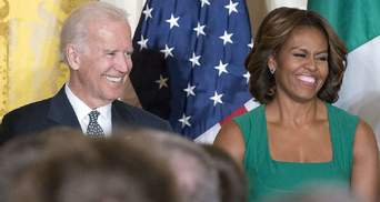 Байден хочет, чтобы после победы на выборах вице-президентом США была жена Обамы