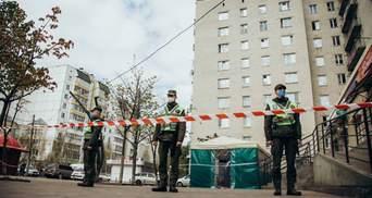 Коронавирус в Вишневом: Нацгвардия оцепила общежитие и никого не впускает – фото, видео
