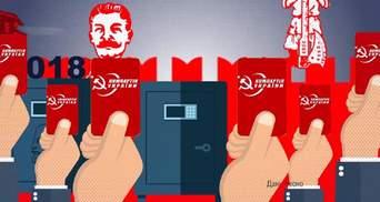 Як Комуністична партія України збирає мільйонні внески: вражаючі дані