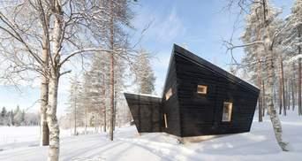 Подих Арктики: у Фінляндії збудували дерев'яну сауну посеред лісу – фото