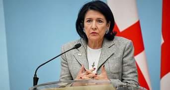 Неприйнятне і незрозуміле: реакція президентки Грузії на призначення Саакашавілі в Кабмін