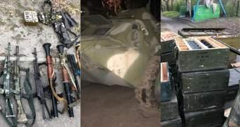 Рекордний арсенал зброї на Сході: ЗМІ повідомили, кому належать техніка та зброя