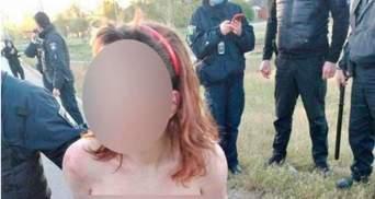 У Харкові затримали голу жінку з відрізаною головою 13-річної доньки: поліція відкрила справу