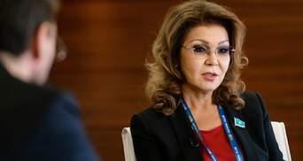 Дочь Назарбаева лишили полномочий главы сената Казахстана
