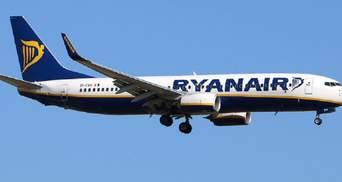 Ryanair ожидает выйти на докризисный уровень только в 2022 году