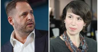 Ермак хочет создать общественный совет по делу Чорновол: это вызвало вопросы у правозащитников