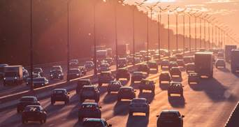 Киев сковали пробки: где затруднено движение – карта