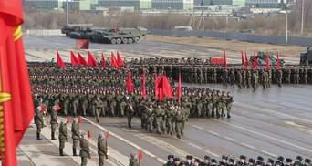 Допраздновались: среди российских военных массовая вспышка COVID-19 из-за репетиций парада