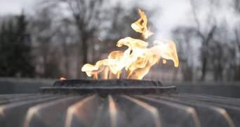 """Погрожували перехожим: на Київщині дівчата смажили сосиски на """"вічному вогні"""" – фото"""