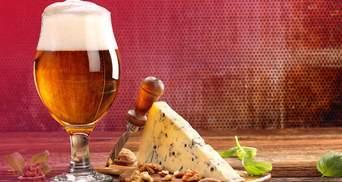 Как правильно сочетать пиво и сыр: инфографика