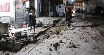 Сильное землетрясение произошло в Китае, есть жертвы: фото, видео