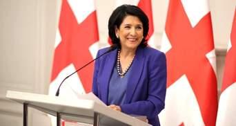 Президентка Грузії вважає, що прямий діалог з Путіним про війну нині не має сенсу
