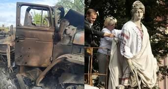 Главные новости 21 мая: обстрел боевиками грузовика украинских военных, День вышиванки