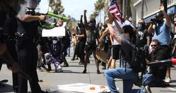 Массовые протесты в США: уже 25 городов ввели комендантский час