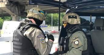 Мінера моста метро в Києві затримали: було чутно постріли під час спецоперації – відео